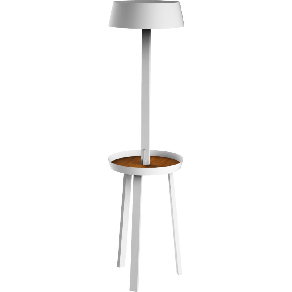 Seed Design Carry Floor Lamp | White SQ-6350MFU-WH