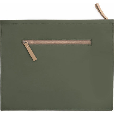 RAINS Waterproof Carry Portfolio | Green/Soil