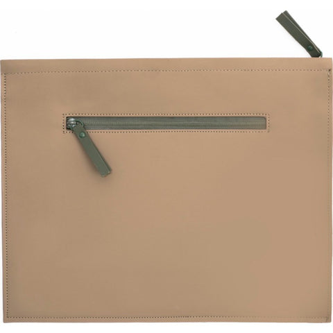 RAINS Waterproof Carry Portfolio | Soil/Green