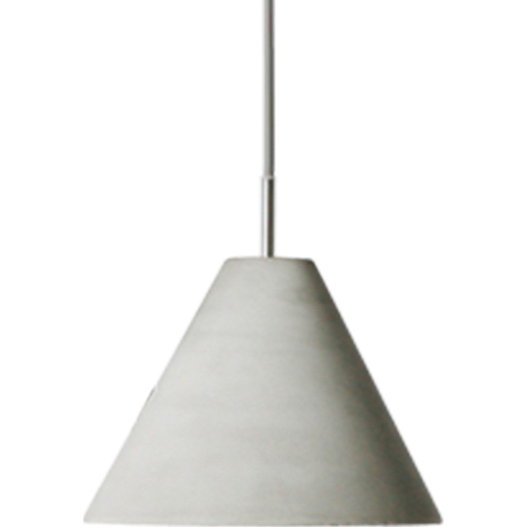 Seed Design Castle Cone Pendant Lamp | Concrete SQ-185CP