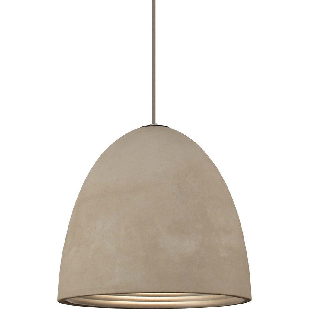 seed design castle pendant lamp concrete medium sq-7132cp-m