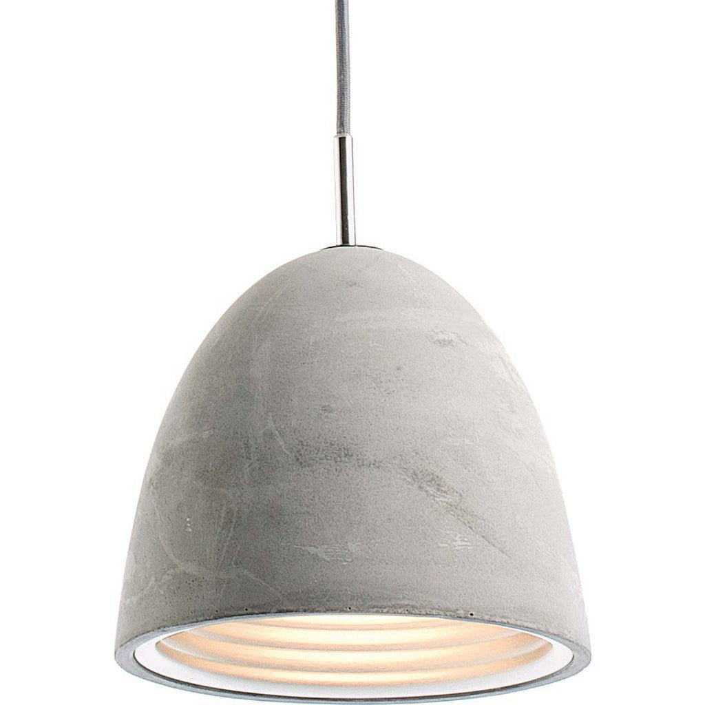 Seed Design Castle Small Pendant Lamp | Concrete SQ-7131CP-S
