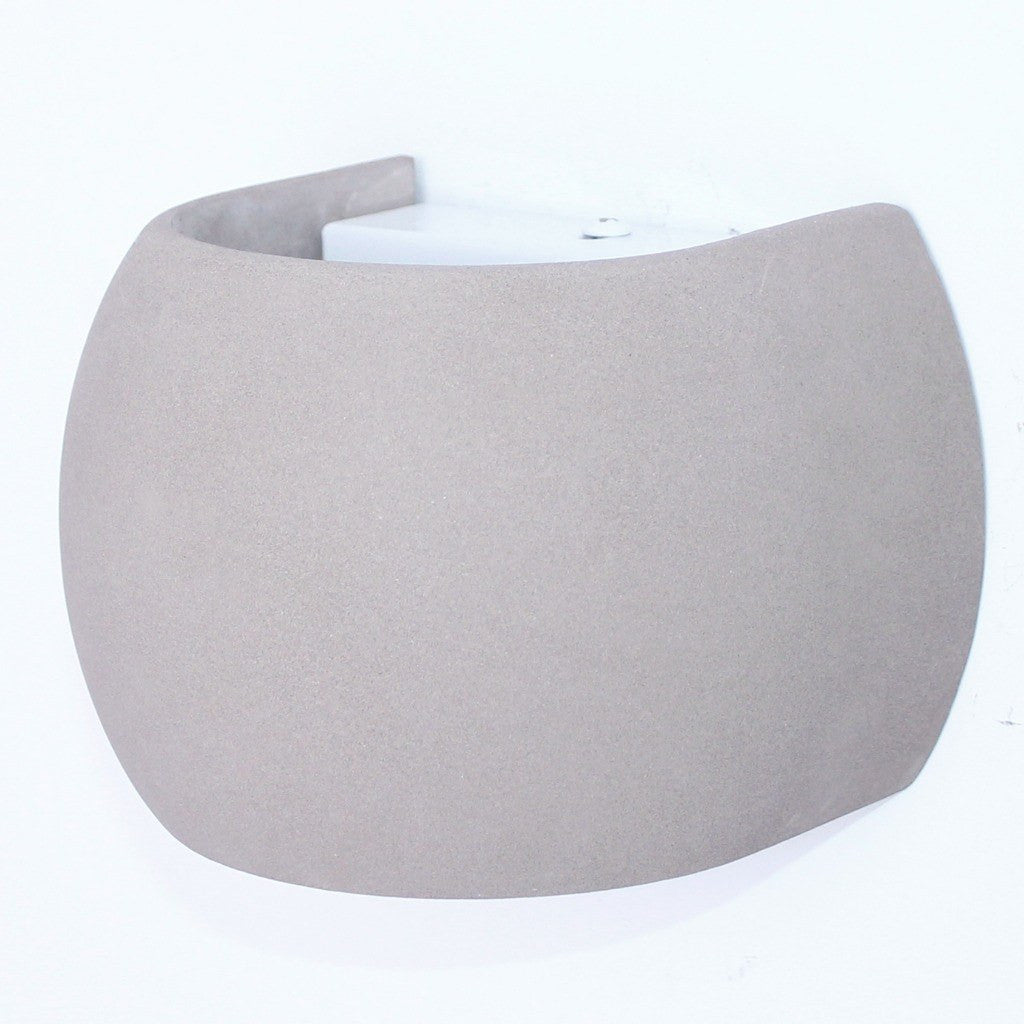 seed design castle wall lamp r  concrete . seed design castle round wall sconce  concrete  sportique