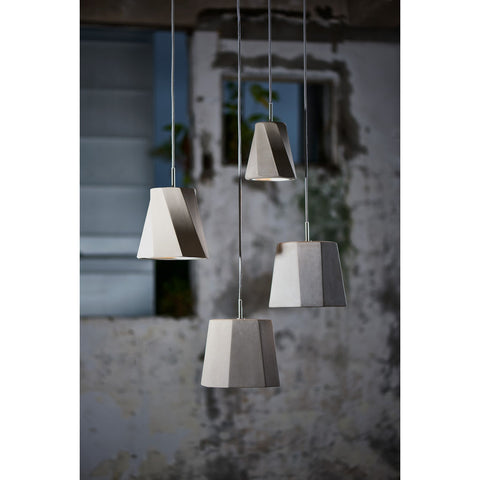 Seed Design Castle Swing Mini Pendant | Concrete- SQ-1251CP