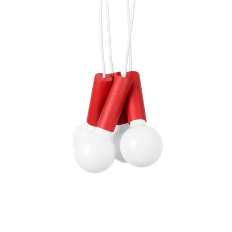 Esaila Cherry Pendant Light-Red  CPL-01-RED