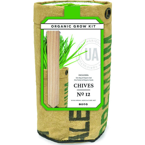 Urban Agriculture Organic Herb Grow Kit | Chives 20203