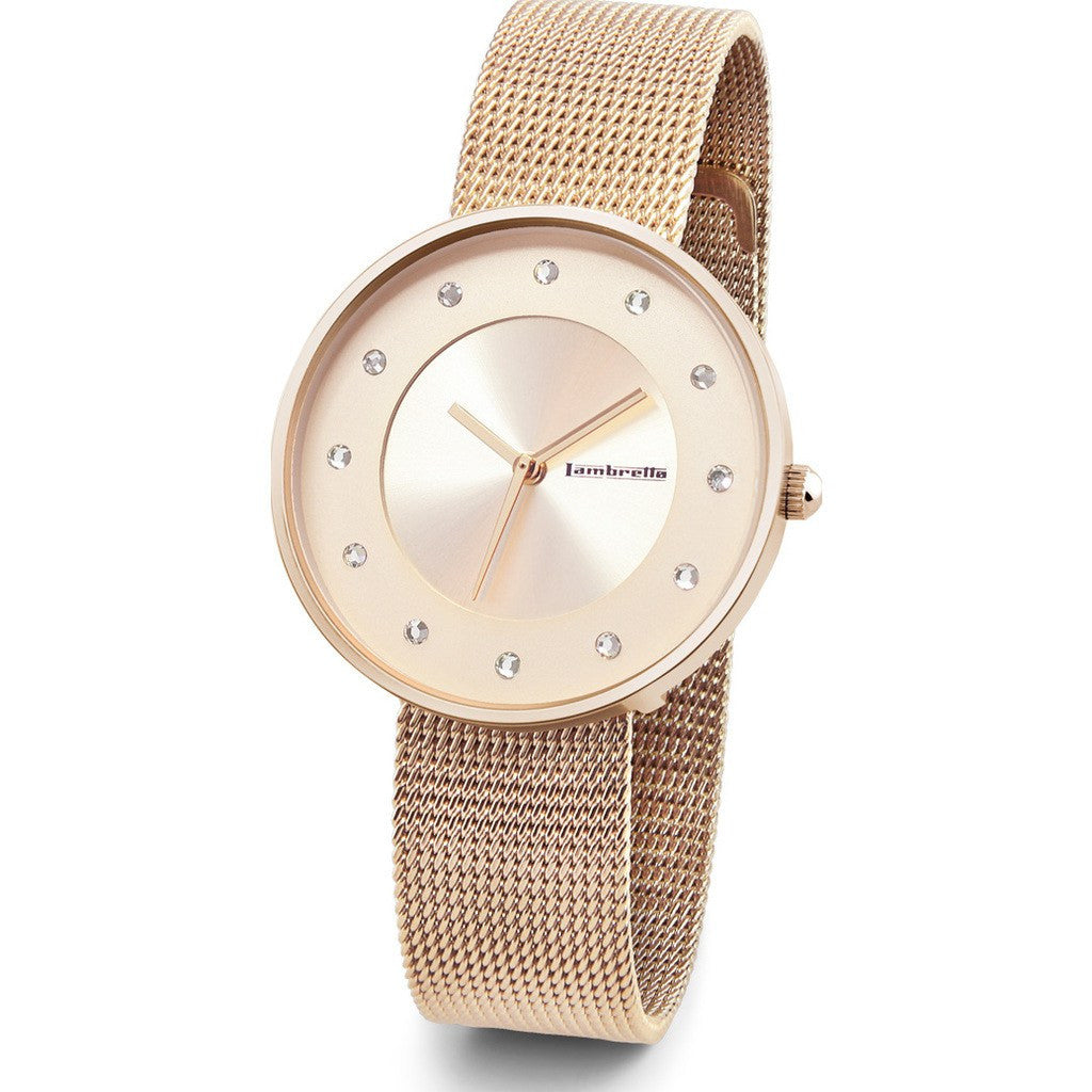 Lambretta Cielo Small Mesh Watch | Rose gold 2205ROS