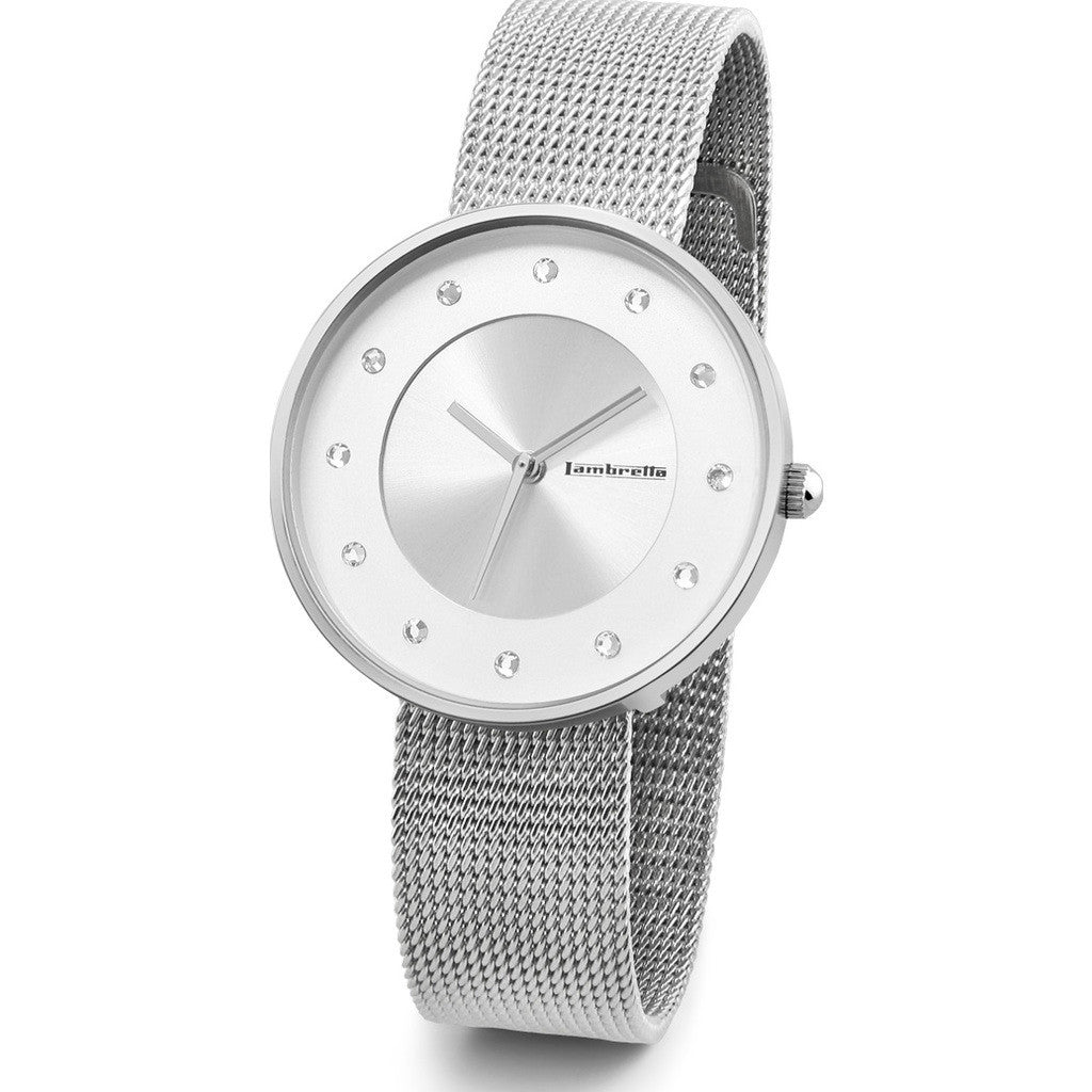 Lambretta Cielo Small Mesh Watch | Silver 2205SIL