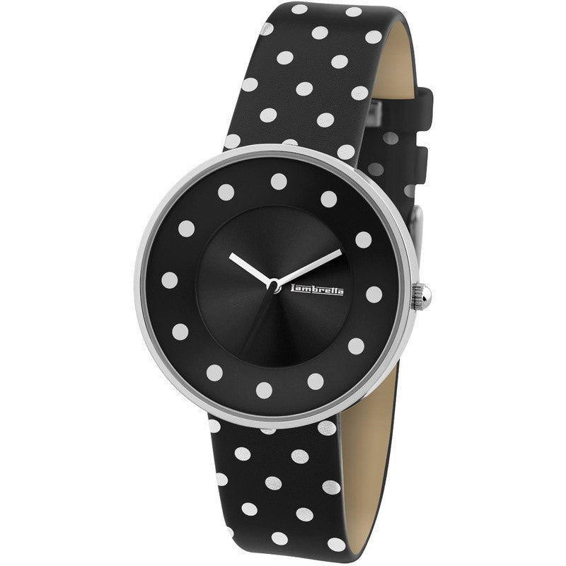 Lambretta Cielo Dots Watch | Black 2104BLA