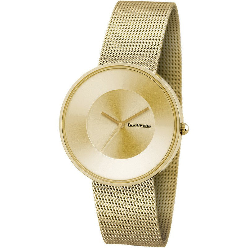 Lambretta Cielo Mesh Watch | Gold 2102GOL
