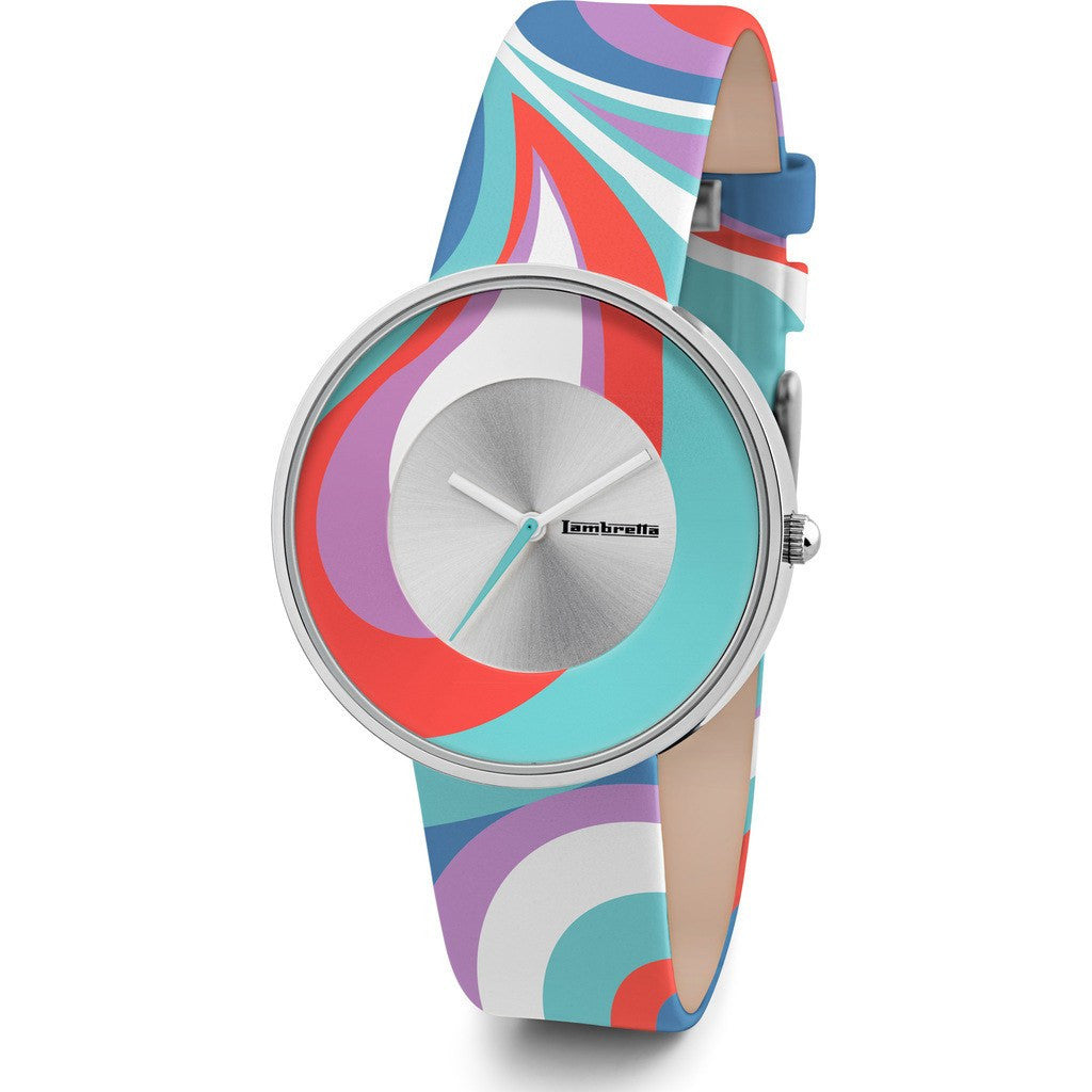 Lambretta Cielo Paisley Watch | Turquoise 2128TUR