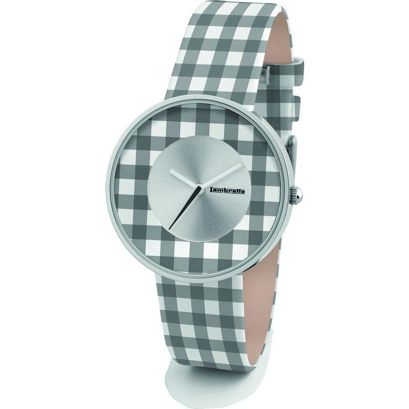 Lambretta Cielo Vichy Watch | Black 2107BLA