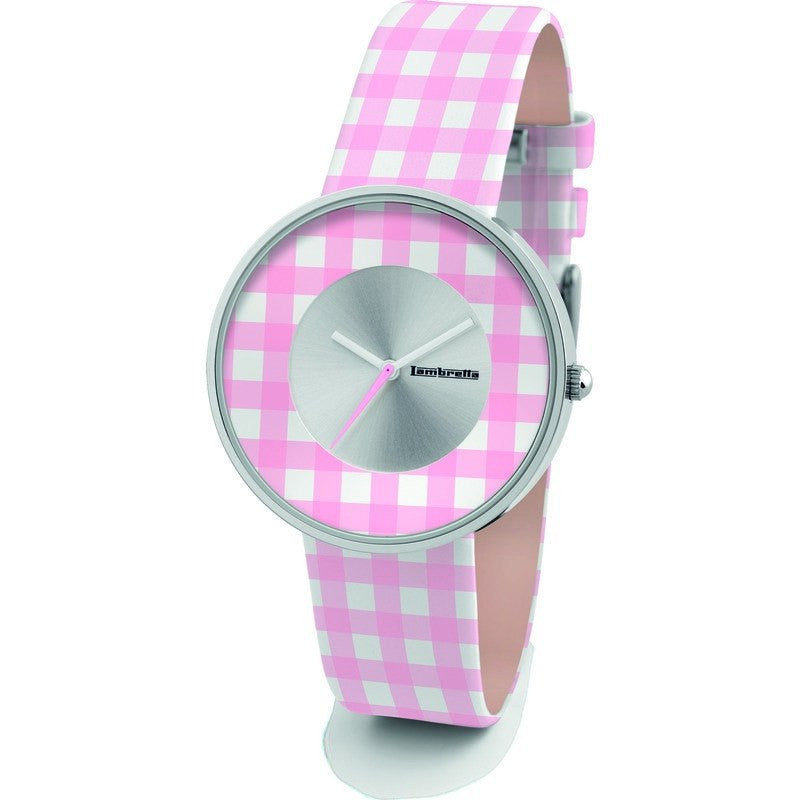Lambretta Cielo Vichy Watch | Pink 2107PIN