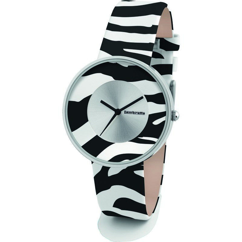Lambretta Cielo Zebra Watch | White 2109WHI