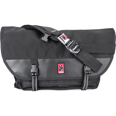 Chrome Citizen Messenger Bag | Black/Black
