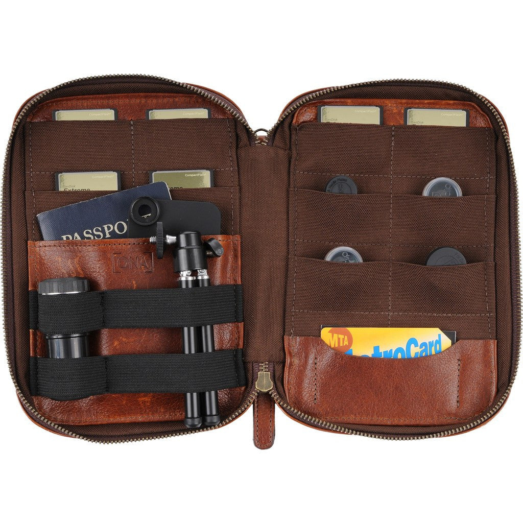 ONA Clarendon Camera Organizer | Walnut ONA030LTC