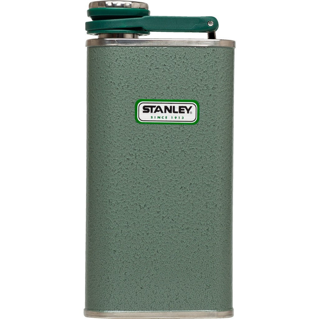 Stanley Classic 8oz Stainless Steel Flask | Hammertone Green 10-00837-045