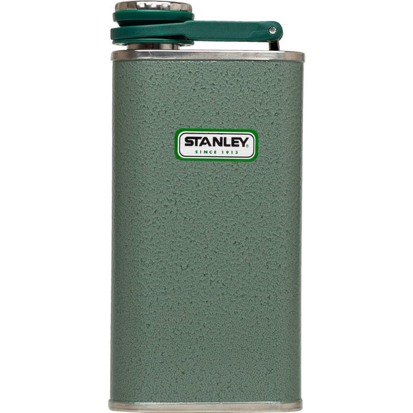 Stanley Classic 8oz Stainless Steel Flask Hammertone Green