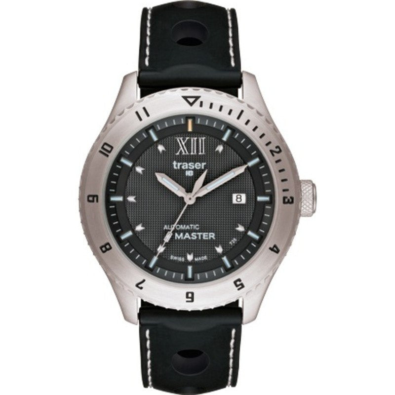 traser H3 Automatic Master Watch | Silicone Strap 100262