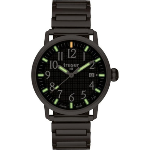 traser H3 Basic Black Watch | Elastic Steel Strap