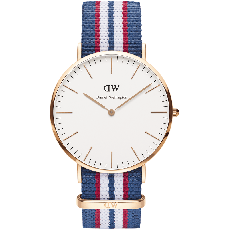 Daniel Wellington Classic Belfast Men's Watch | Rose Gold 0113DW