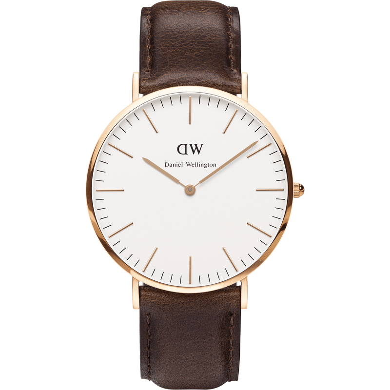 Daniel Wellington Bristol Men's Watch | Rose Gold 0109DW