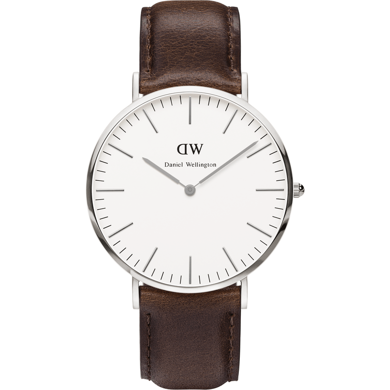 Daniel Wellington Classic Bristol Men's Watch | Silver 0209DW