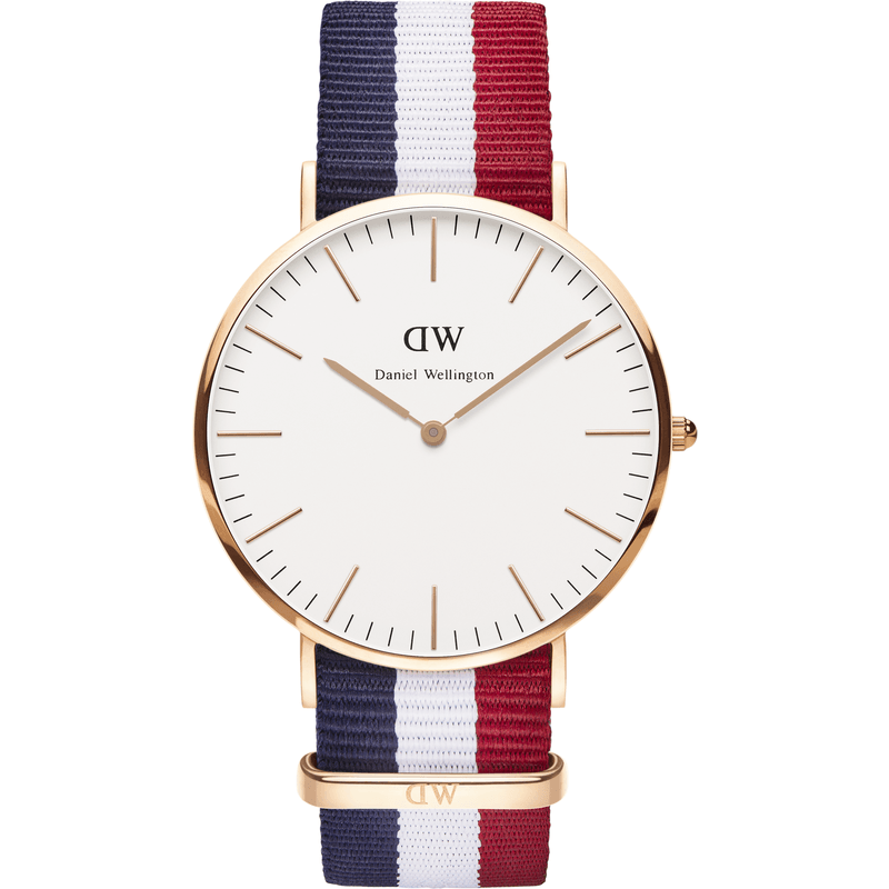 Daniel Wellington Classic Cambride Men's Watch | Rose Gold 0103DW