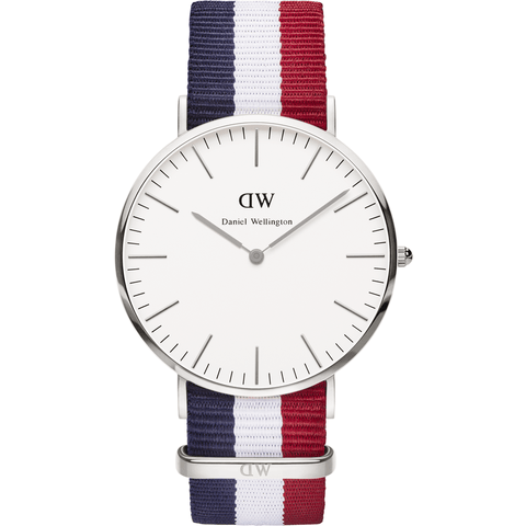 Daniel Wellington Classic Cambridge Men's Watch | Silver 0203DW