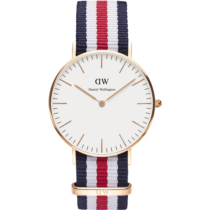 Daniel Wellington Classic Canterbury Men's Watch | Rose Gold 0102DW