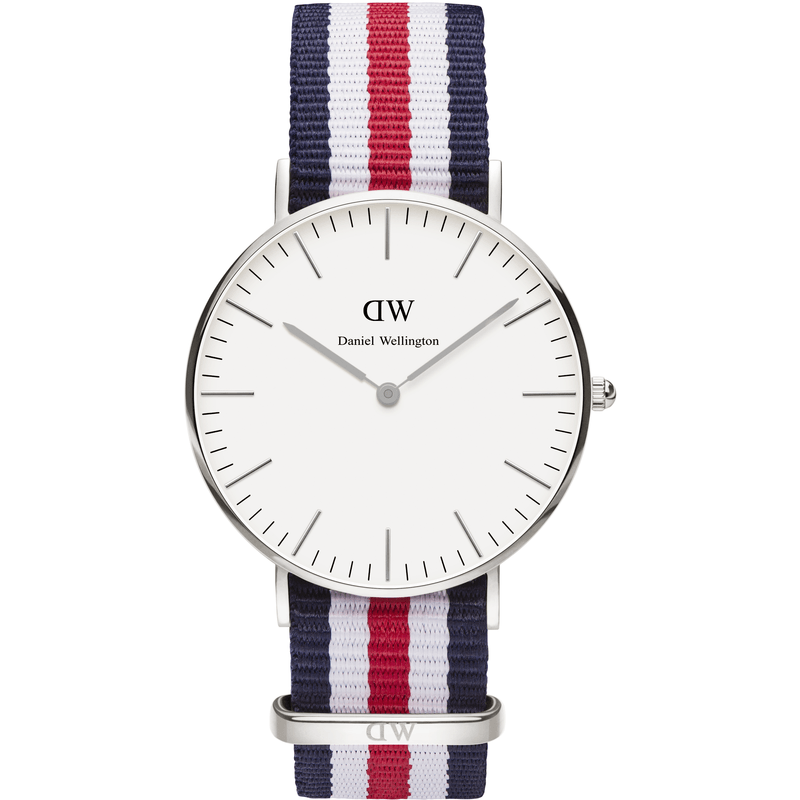 Daniel Wellington Classic Canterbury Men's Watch | Silver 0202DW
