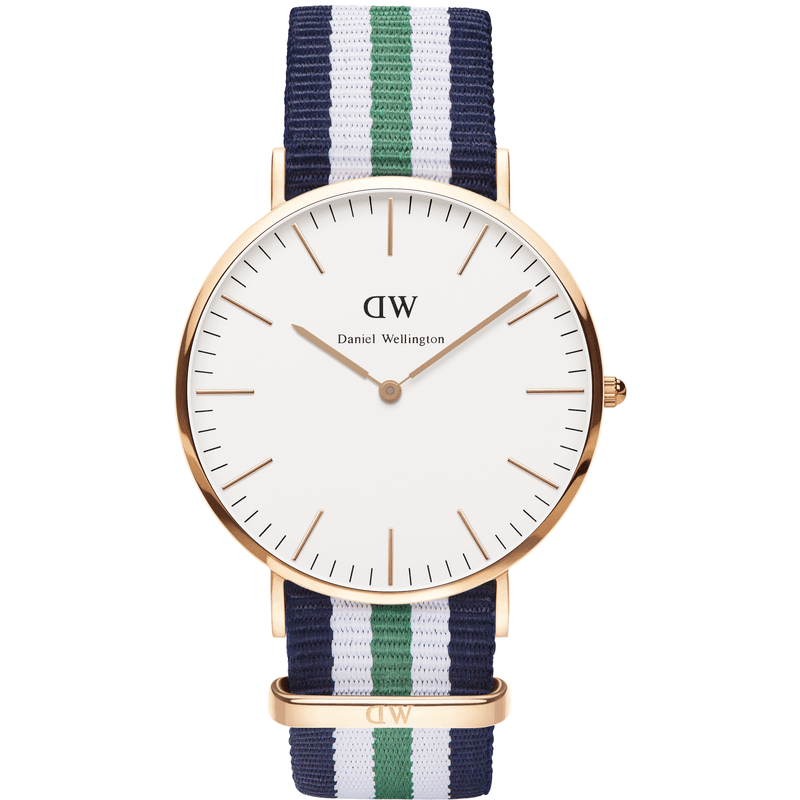 Daniel Wellington Classic Nottingham Men's Watch | Rose Gold 0108DW