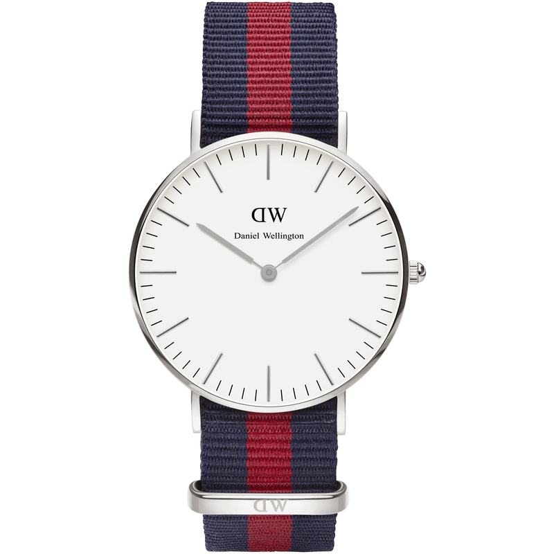 Daniel Wellington Classic Oxford Men's Watch | Silver 0201DW