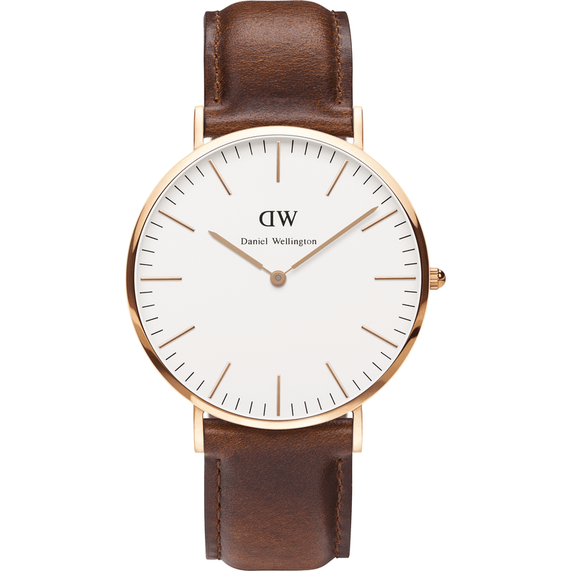 Daniel Wellington Classic St. Andrews Men's Watch | Rose Gold 0106DW