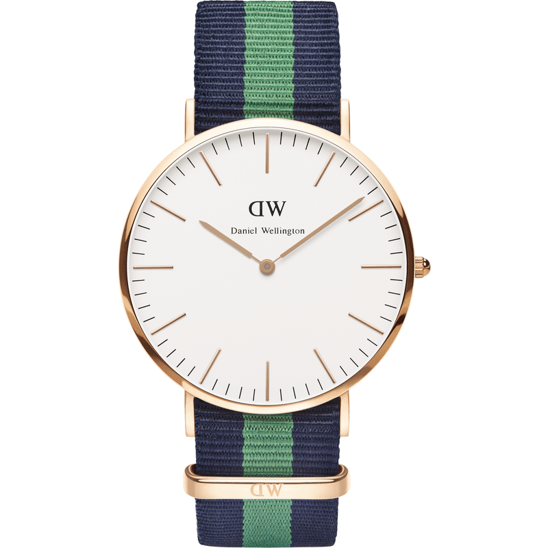 Daniel Wellington Classic Warwick Men's Watch | Rose Gold 0105DW