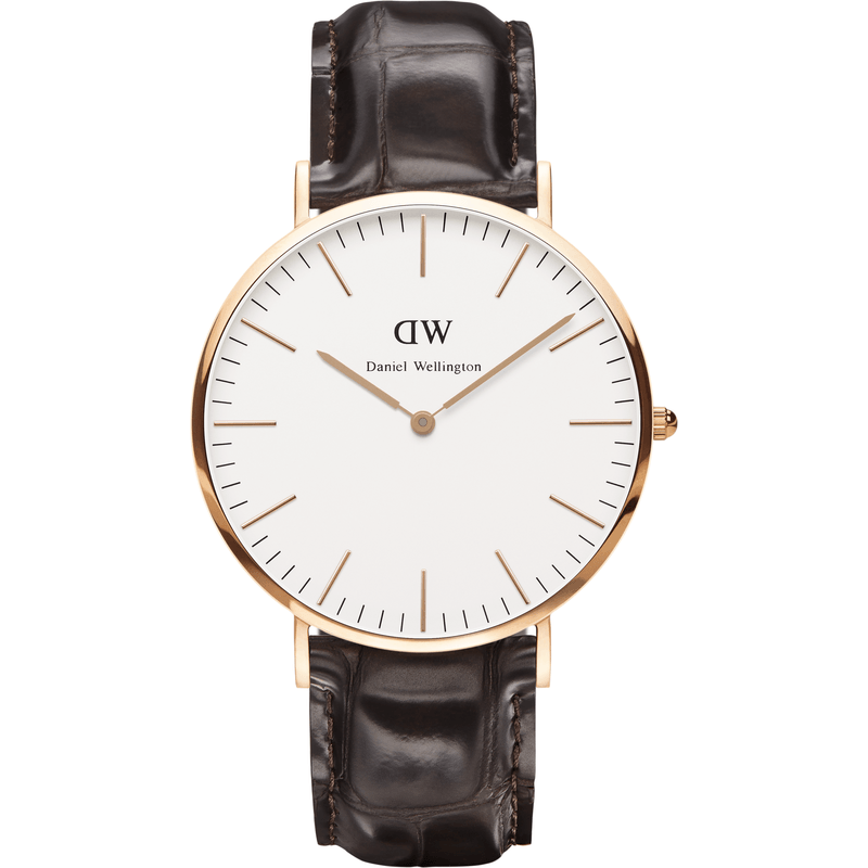 Daniel Wellington Classic York Men's Watch | Rose Gold 0111DW