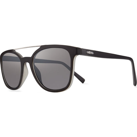 Revo Eyewear Clayton Matte Black/Crystal Sunglasses | Graphite RE 1040 11 GGY