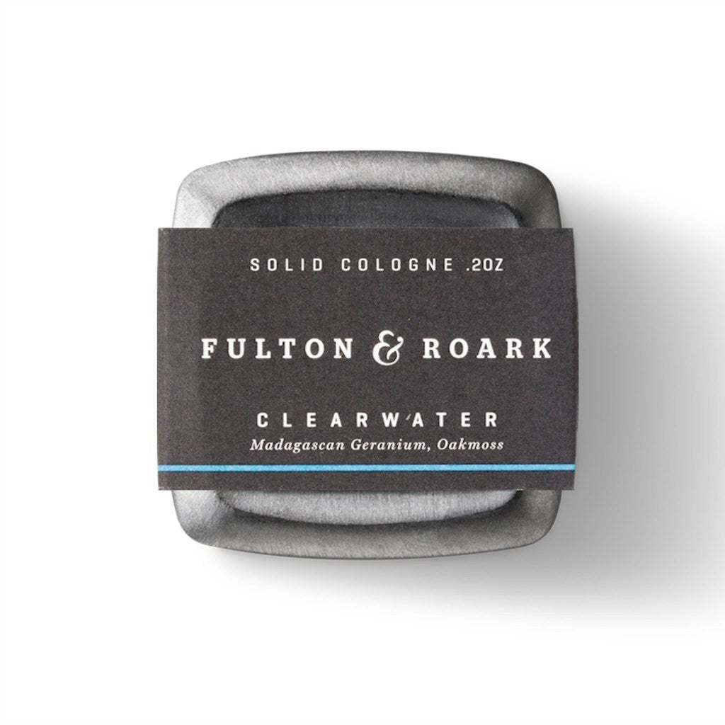 Fulton & Roark Clearwater Solid Cologne | .2 oz COLCL01