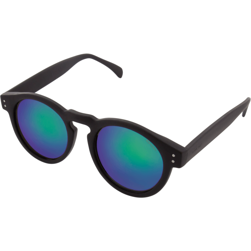 Komono Clement Mirror Series Sunglasses | Black Rubber