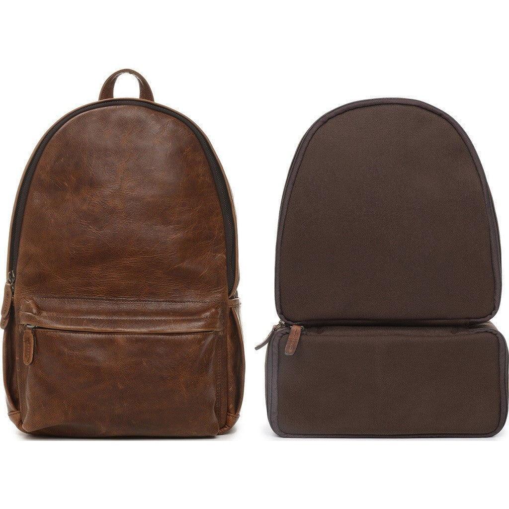 ONA Leather Clifton Camera Backpack | Antique Cognac ONA046LBR