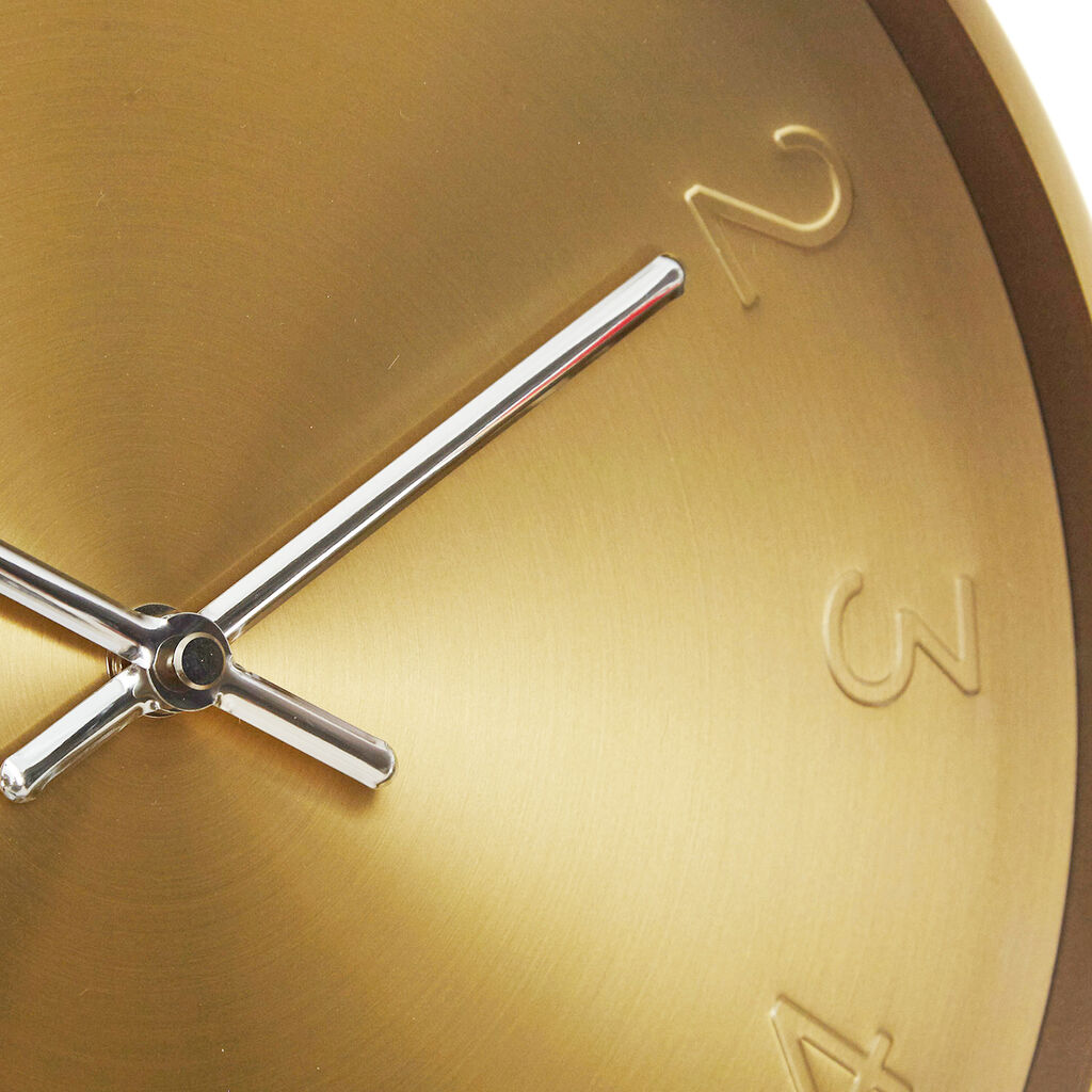 Cloudnola Trusty Wall Clock | Dutch Gold Diam 12 SKU0007