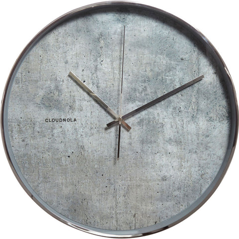 Cloudnola Structure Wall Clock | Silent