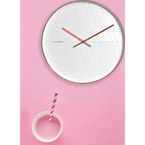 Cloudnola Cloud Wall Clock | Metal Diam 20 SKU0052