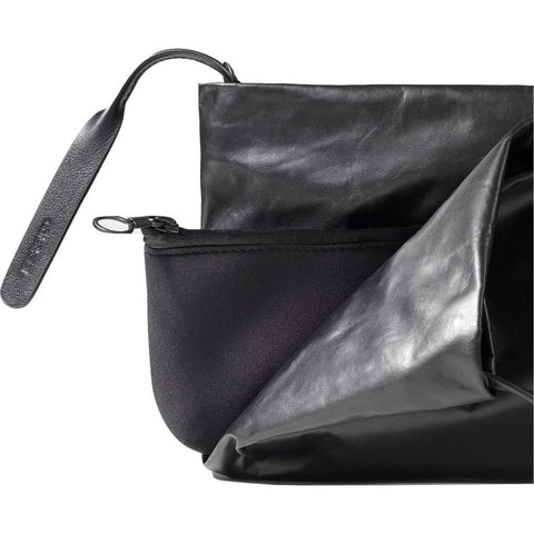 Cote&Ciel OB Medium Coated Memory Clutch | Jade Black 28456