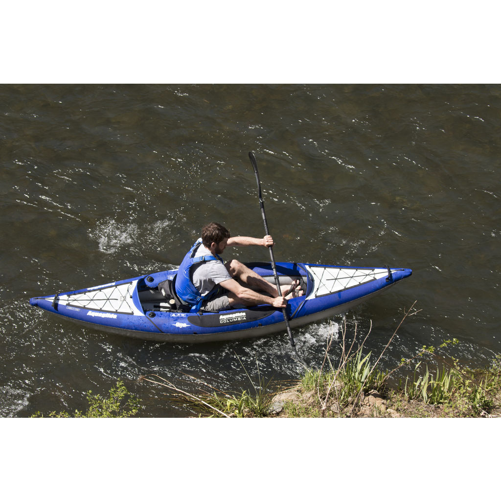 Aquaglide Columbia XP Inflatable Kayak | Blue 58-5215039