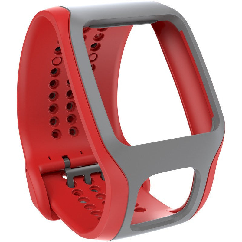 TomTom Cardio Comfort Strap | Red/Light Grey 9URA.001.00