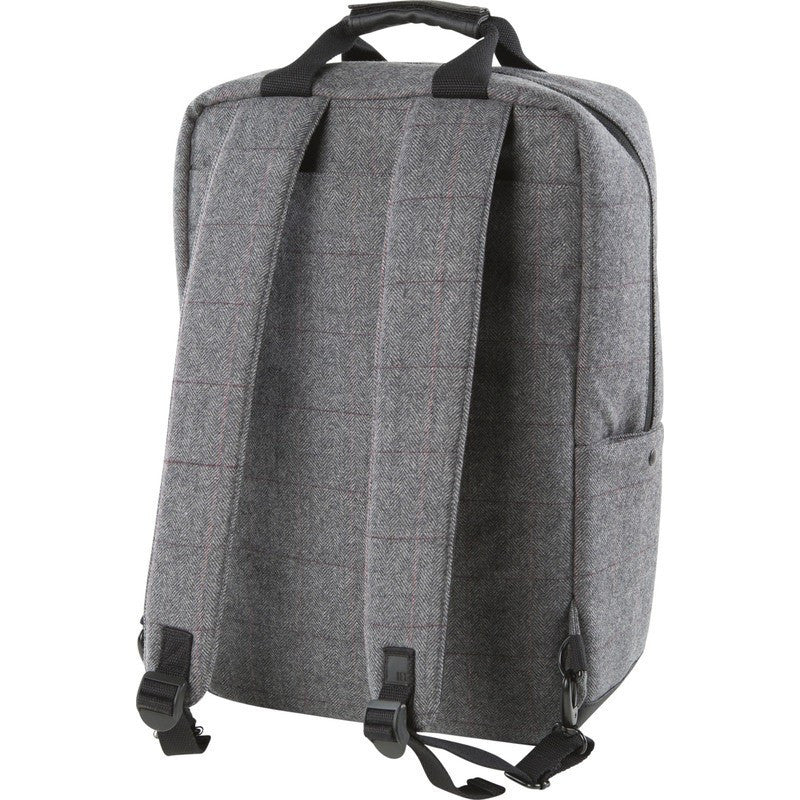 Hex HX1820 Convertible Laptop Backpack | Charcoal Herringbone