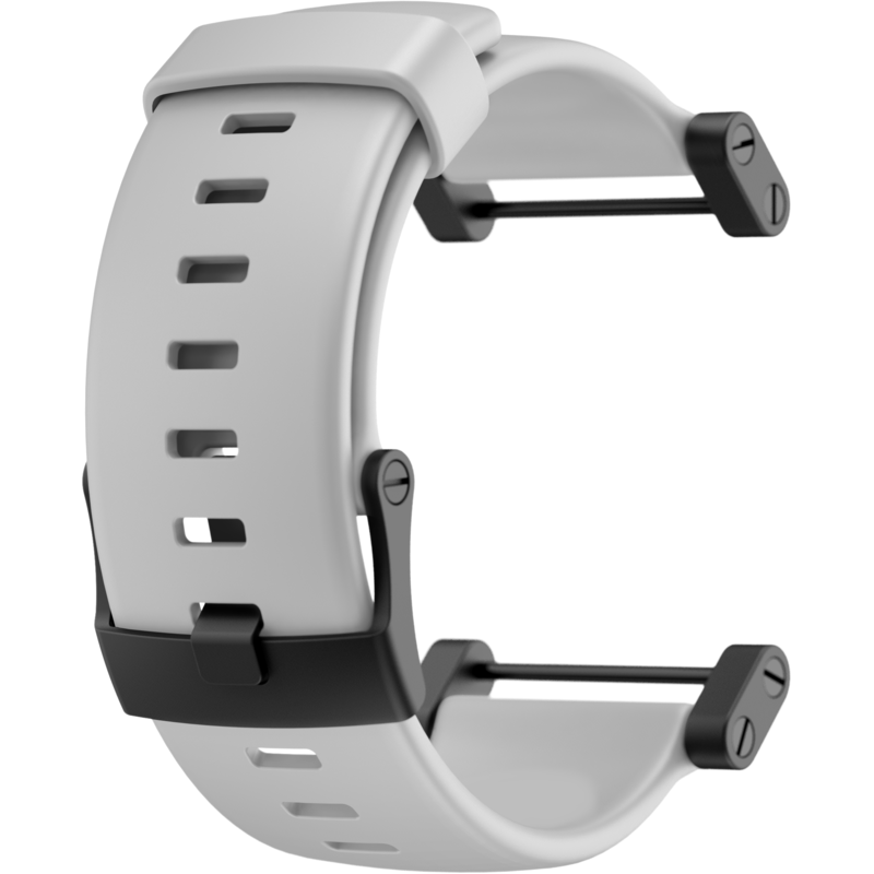 Suunto Core Crush Rubber Strap | White SS020796000