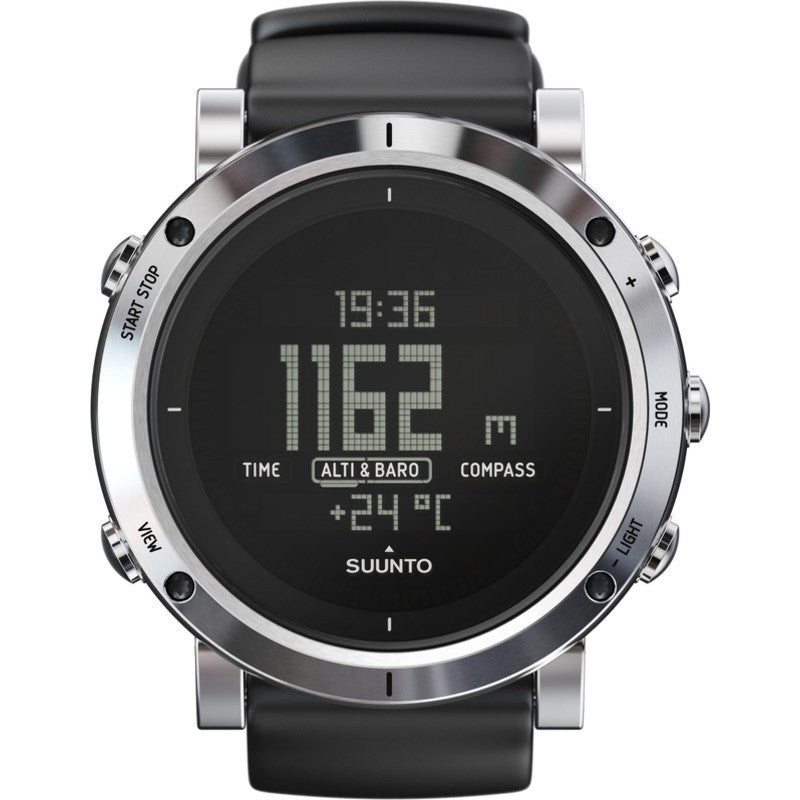 Suunto Core Altimeter Watch | Brushed Steel SS020339000