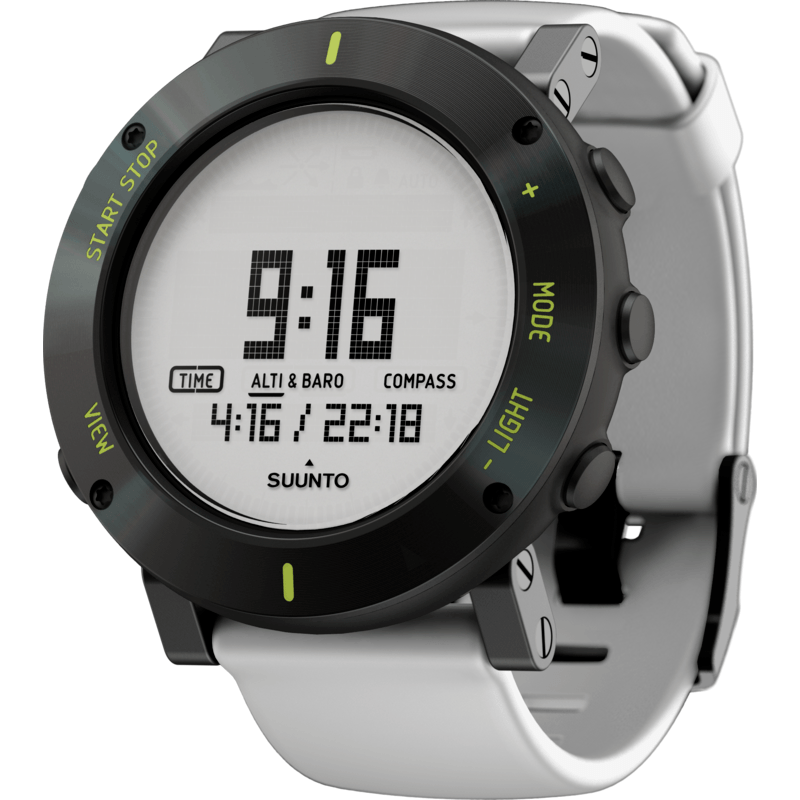 Suunto Core Multi-Function Outdoor Watch | White Crush SS020690000